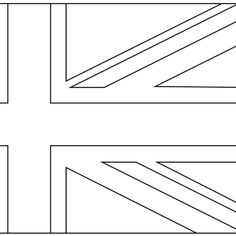 union jack colouring in template architecture accessories and home