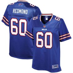 Adam Redmond Buffalo Bills NFL Pro Line Women s Team Color Player Jersey –  Royal 3d76a5e0a