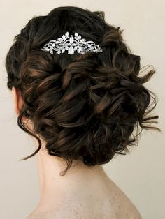 Small Vintage Rhinestone Bridal Hair Comb ~ Katrina by Hair Comes the Bride