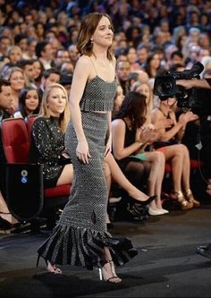f0e7999125 Dakota Johnson wins Favorite Dramatic Movie Actress!  PeoplesChoiceAwards  Red Carpet Dresses
