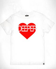 """""""Deeper Love"""" Create Your Own Canvas, Printable Art, Printables, Deep Love, Electronic Music, Wise Words, Framed Prints, Mens Tops, T Shirt"""