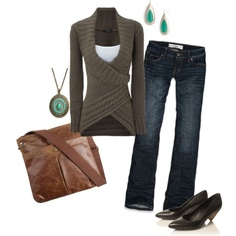 Winter casual, created by inspireer on Polyvore