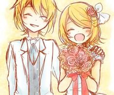 Page 3 Read Wedding from the story Xả ảnh rin len by kagamine-rin-cute (Momochi) with 378 reads. Rin E Len, Vocaloid Len, Kagamine Rin And Len, Kaito, Anime Couples, Cute Couples, Suki, Mikuo, Sailor Moon