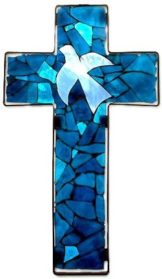 15 Stained Glass Cross in Chapel of Rest Stained Glass Church, Stained Glass Quilt, Faux Stained Glass, Fused Glass Art, Stained Glass Patterns Free, Stained Glass Designs, Stained Glass Projects, Mosaic Art, Mosaic Glass