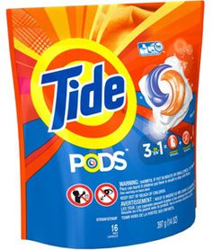 FREE Tide PODS Laundry Detergent from TopCashback on http://hunt4freebies.com