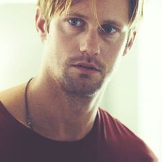 Alexander Skarsgard.... Always and forever be my Eric from True Blood
