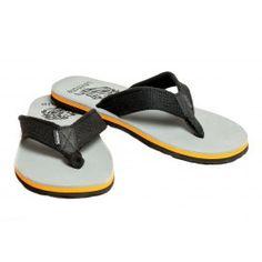 Levitate Men's Slippers  Grey  Orange