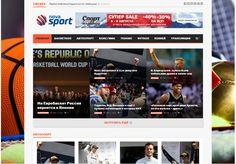 Спортивный автонаполняемый сайт - Nova Sport