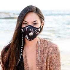 SKOVA's Summer Mask Saver, crossbody chain necklace! - SKOVA Mask Online, Round Sunglasses, Chain, Summer, Fashion, Caps Hats, Moda, Fasion, Trendy Fashion