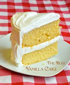The Best Vanilla Cake - a recipe so popular it has been in our TOP TEN recipes for 5 years running! All bakers search for The Best Vanilla Cake recipe. After 30 years, I developed my own moist, buttery, perfect vanilla cake; with Marshmallow Frosting too.