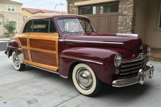 1947 Ford Sportsman Convertible Woody