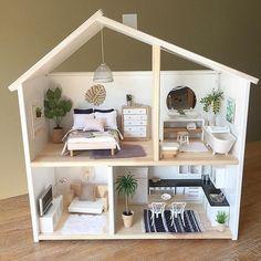 Modern Doll House Ikea Hack Girls Bedroom Decor