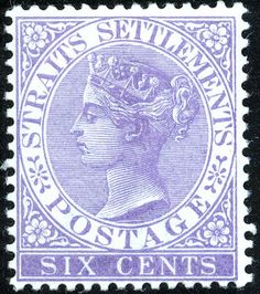 Stamp: Issue of (Straits Settlements) (Queen Victoria) Mi:SG-ST 66 Strait Of Malacca, Straits Settlements, Crown Colony, Cocos Island, Labuan, Vintage Stamps, Southeast Asia, History, Empire