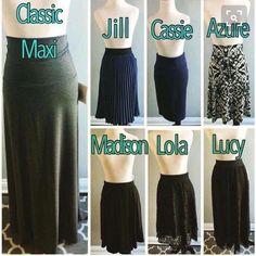 Skirt Descriptions