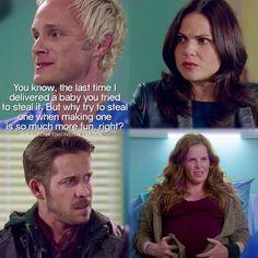 "Dr. Whale, Robin, Regina and Zelena - 5 * 8 ""Birth"""