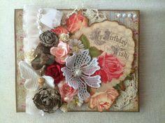 """My Birthday Wish"" Handmade Birthday Card #lovesummerart"