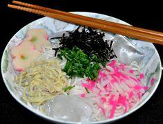 Receitas da Nobuko: HIYASHI SOMEN - Somen gelado