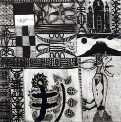 John Pule Passage Way, 2012 Nz Art, Maori Art, Art Pictures, Printmaking, New Zealand, Cool Art, Contemporary, Gallery, Drawings