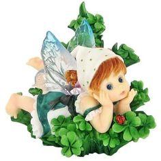 My Little Kitchen Fairies - Shamrock Field Fairie by My Little Kitchen Fairies, http://www.amazon.com/dp/B002YU1KL2/ref=cm_sw_r_pi_dp_Fjxirb11CAFZ7
