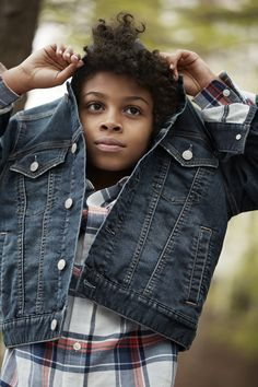 【Kids Boy】 デニムジャケット/ID:234741 ※一部限定店舗での取扱い フランネルシャツ/ID:164415 ※一部店舗取扱いなし  #Gap, #ギャップ, #GapFall2016, #GapKids, #fashion, #ファッション, #denim, #デニム, #リラックス, #カジュアル