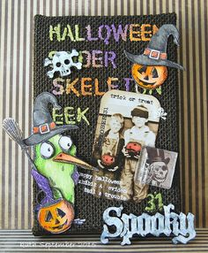 Kath's Blog......diary of the everyday life of a crafter: Spooky Goings-on...