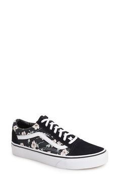 Vans 'Old Skool - Vintage Floral' Sneaker (Women) available at #Nordstrom
