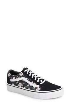 Vans 'Old Skool - Vintage Floral' Sneaker (Women) available at #Nordstrom