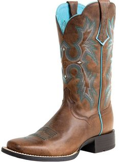 Ariat Cowboy Boots for Women | Ariat Tombstone Cowboy Boots - Wychanger