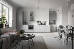 Kitchen, living room and bedroom in one - COCO LAPINE DESIGN