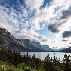Evening light at Wild Goose Island Overlook. It's hard to take bad photos in this place. #GlacierNPS by jwfrankphotography