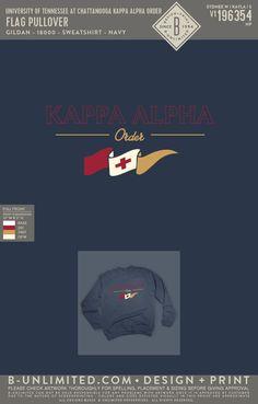 Kappa Alpha Order Flag Sweatshirt | Fraternity Event | Greek Event #kappaalphaorder #kappaalpha #theorder #ka Kappa Alpha Order, Polo Design, University Of Tennessee, Fraternity, Greek, Flag, Sweatshirts, Artwork, Work Of Art