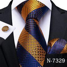 Pink Yellow Weddings, Gold Fashion, Mens Fashion, Luxury Fashion, Tie Crafts, Mens Silk Ties, Cufflink Set, Wedding Ties, Party Wedding