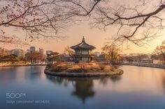 Hyangwonjeong Pavilion by Vorrarit