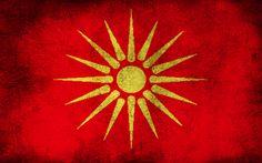 Flag Republic of Macedonia 1991-1995