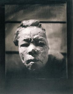 EDWARD STEICHEN (1879 -1973). MASK OF HANAKO, 1911-1913,  Rodin Museum.   http://www.musee-rodin.fr/en/collections/photographies