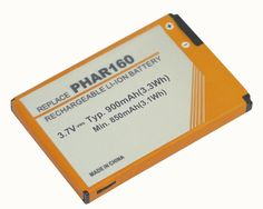 *3.7V 1100mAh Li-ion battery for HTC PHAR160,P3470,Pharos 100,Touch Viva NEW% #PowerSmart