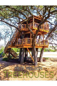 Pete Nelson's 2018 Treehouse Calendar