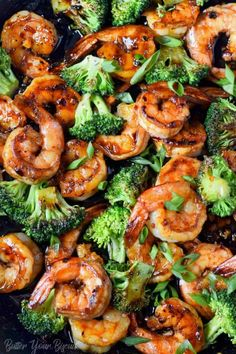 Honey garlic butter shrimp is a gourmet meal with no effort. Perfect for those busy weeknights or elegant enough for company. Honey garlic butter shrimp is a gourmet meal with no effort. Perfect for those busy weeknights or elegant enough for company. Shrimp Recipes Easy, Fish Recipes, Seafood Recipes, Gourmet Recipes, Cooking Recipes, Healthy Recipes, Gourmet Meals, Garlic Shrimp Recipes, Shrimp Dinner Recipes