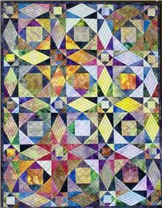 square in square sea of galilee quilt - Google Search