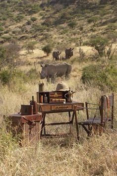 Safari Trip by Bauer International - Writing Desk Set Safari Chic, British Colonial Decor, British Decor, Vintage Safari, Campaign Furniture, Colonial Furniture, Safari Adventure, Adventure Travel, Out Of Africa