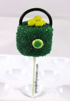 St. Patricks Day Pot of Gold Marshmallow Pops! - Spend With Pennies