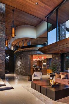 - contemporary - living room