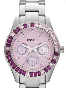 pink and purple Fossil Watch BLING #purplewatch