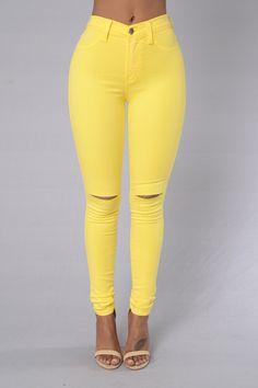 Canopy Jeans - Lemon