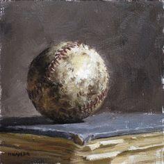 Michael Naples, artist - Old Baseball, Book