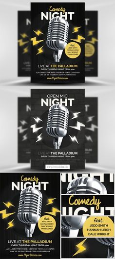 Karaoke Night Flyer Template By Flyerheroes On Creativemarket