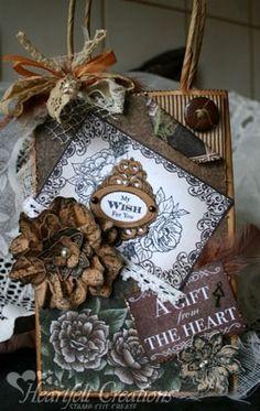 Heartfelt Creations | Vintage Wish Gift Bag