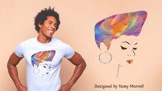 Graphic design digital download-Sublimation vector   Etsy Vector Design, Graphic Design, Afro Girl, Digital Prints, Typography, Illustration, Etsy, Color, Fingerprints