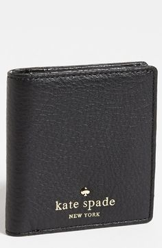 kate spade new york 'cobble hill - small stacy' leather wallet available at #Nordstrom