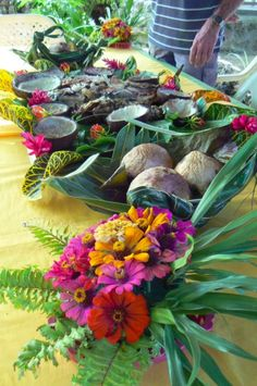 Sunday Lunch Samoan Style